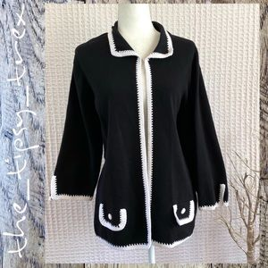 Vintage Sweater Cardigan 2X